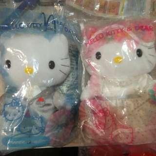 Hello kitty soft toy couple
