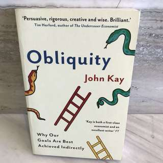 New - obliquity by John Kay