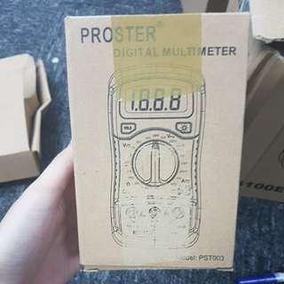 PROSTER Digital Multimeter