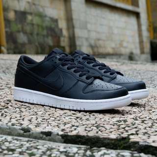 Nike sb dunk low black white original