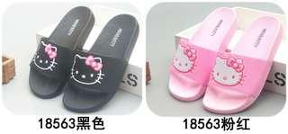 ㊣正版成人女裝HELLO KITTY拖鞋 2色選34-37碼 $138/件