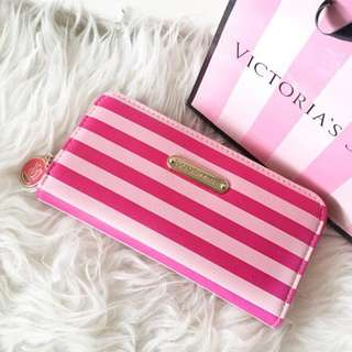 Original VICTORIA SECRET long Zip Wallet