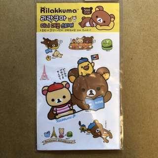 鬆弛熊貼紙