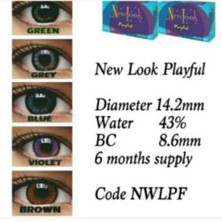 Newlook softlens