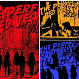 (FAST ETA) THE PERFECT RED VELVET SERIES 2 , BADBOY