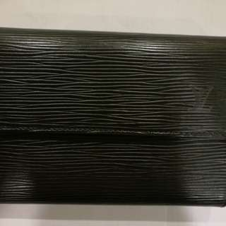 Authentic Louis Vuitton leather wallet