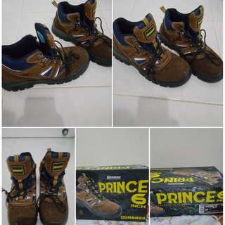 Safety Shoes Krisbow Brown fashionable