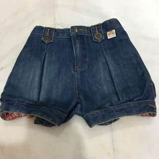 Pororo new short jeans