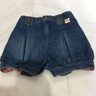 Pororo new short jeans