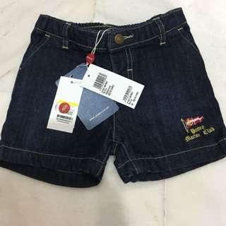 Poney short pants-jeans