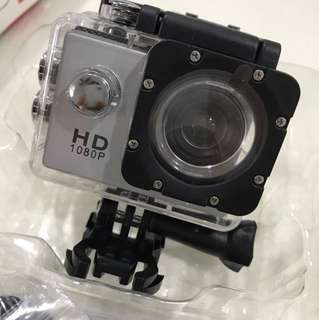 Brand New / Sports Camera / Not Go Pro (Silver/Yellow)