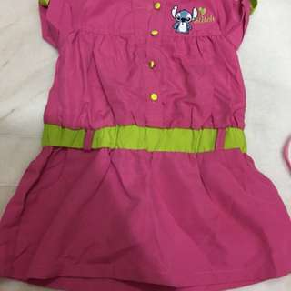 Disney stitch dress-new