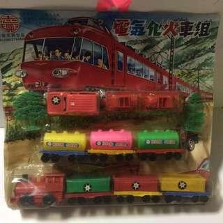 🚚 塑膠火車一組
