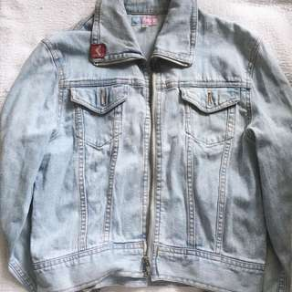 ROXY Light Blue Denim Jacket