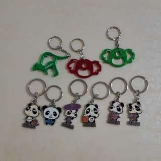 9 Keychains