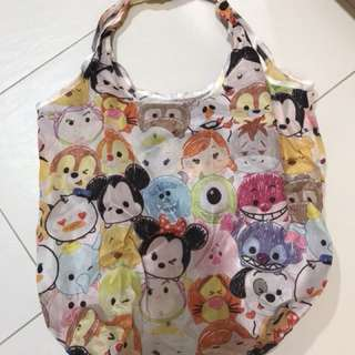 Very Pretty and Bright Authentic Tsum Tsum Recycle Bag