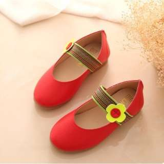 red baby girl shoe