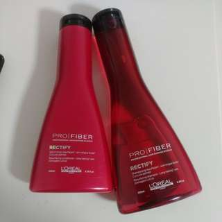 Loreal Profiber Rectify Shampoo and Conditioner