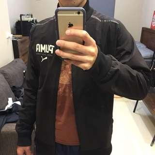 PUMA 黑色 運動飛行外套