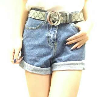 🚚 高腰反折短褲