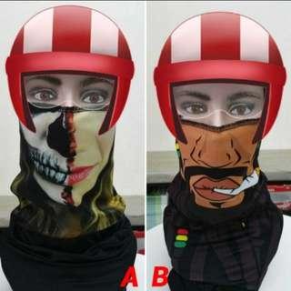 INSTOCK Head Buff Mask