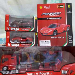 Shell Ferrari Car Toys