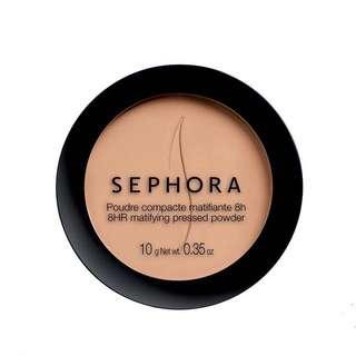 Sephora 8HR Matifying Pressed Powder
