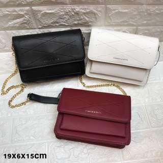 SALE!!!! Charles and keith sling bag tas import wanita