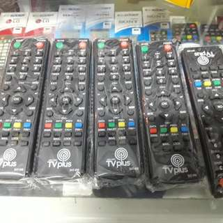Tv plus remote control