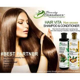 Vita Hair Shampoo and Vita Hair Conditioner