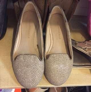 ZARA girl's glitter shoes