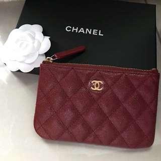 Brand new authentic Chanel mini coin case
