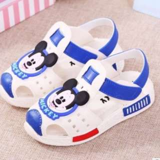 mickey mouse sandal baby girl/boy