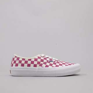 Vans Authentic Pro Checkerboard Fuchsia