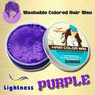 Lightness Washablw Colored Wax