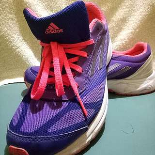 Adidas Rubber Shoes (Hot pink & Purple)