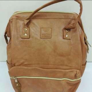 Anello bagpack leather large