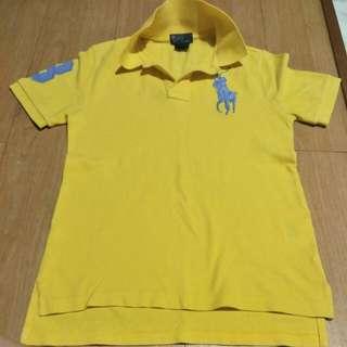 Authentic Kids Polo Ralph Lauren Polo Tee yellow