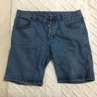 Silent theory men's denim shorts size 32