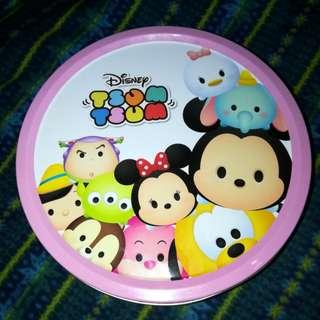 Disney Tsum Tsum Round Tin Can