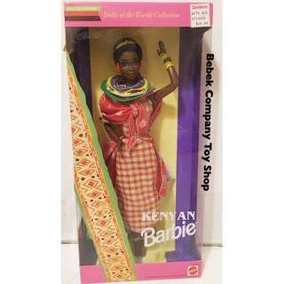 Mattel 1993年 Kenyan Barbie 世界系列 絕版 古董 芭比娃娃 肯亞 全新未拆 盒裝