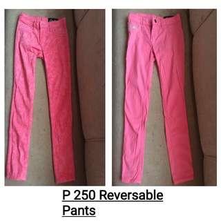Reversable Jeans