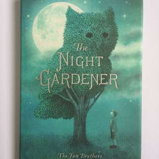 Buku Cerita Anak Impor The Night Gardener