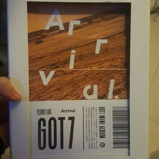 GOT7 Flight Log:Arrival 連小卡3張