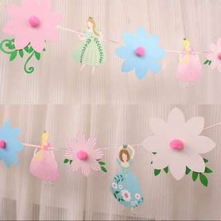 Princess Party Garlands