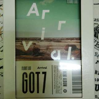 GOT7 Flight Log:Arrival Ever version 2nd press