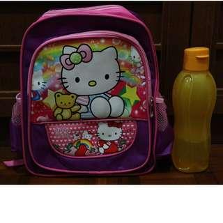 Hello Kitty Kids School Bag