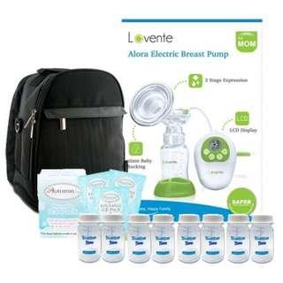 Lavente Alora Single Electric Breast Pump