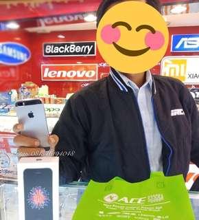 Iphone 5SE 32gb bisa kredit promo bunga 0% dan free admin