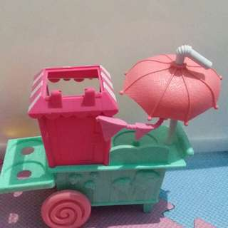 Shopkins popcorn cart